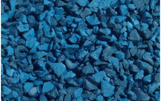 Blue mix wet pour
