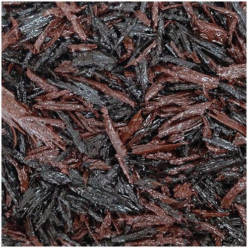 Brown and red mix bonded rubber mulch
