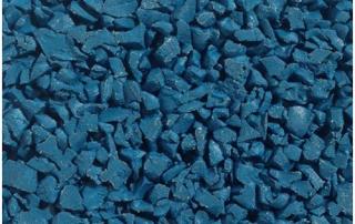 Dark blue wet pour
