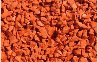 Orange wet pour