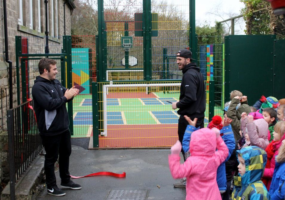 Newcastle Falcons open Primary Spaces Installation