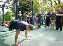 The university of nottingham fitness trail