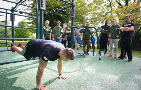 The university of nottingham fitness trail