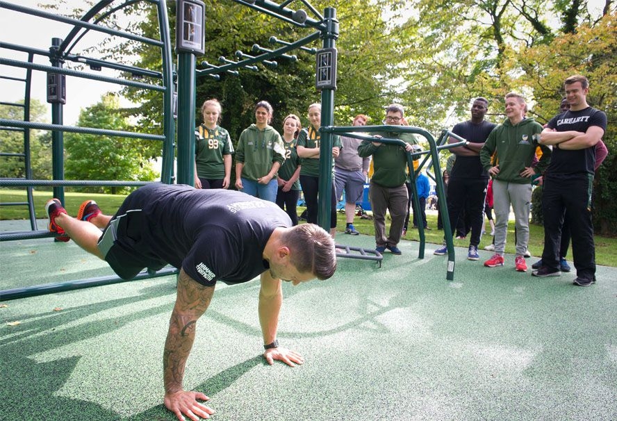 outdoor fitness surfacing