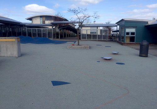 Auchterarder School before transformation
