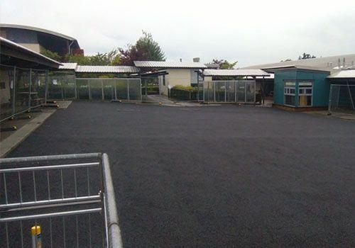 SBR base course for wet pour