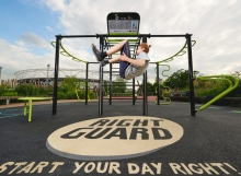 olympic park london outdoor gym