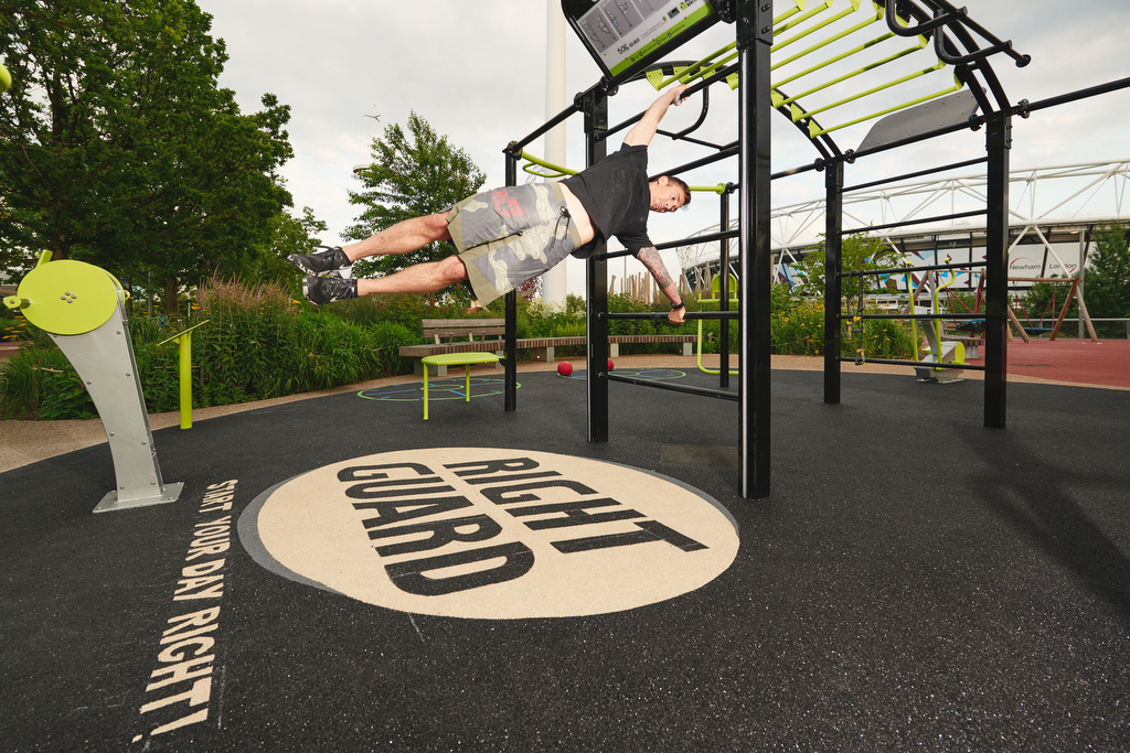 The Great Outdoor Gym Company Queen Elizabeth Olympic Park Installation Photo By Phil Bourne