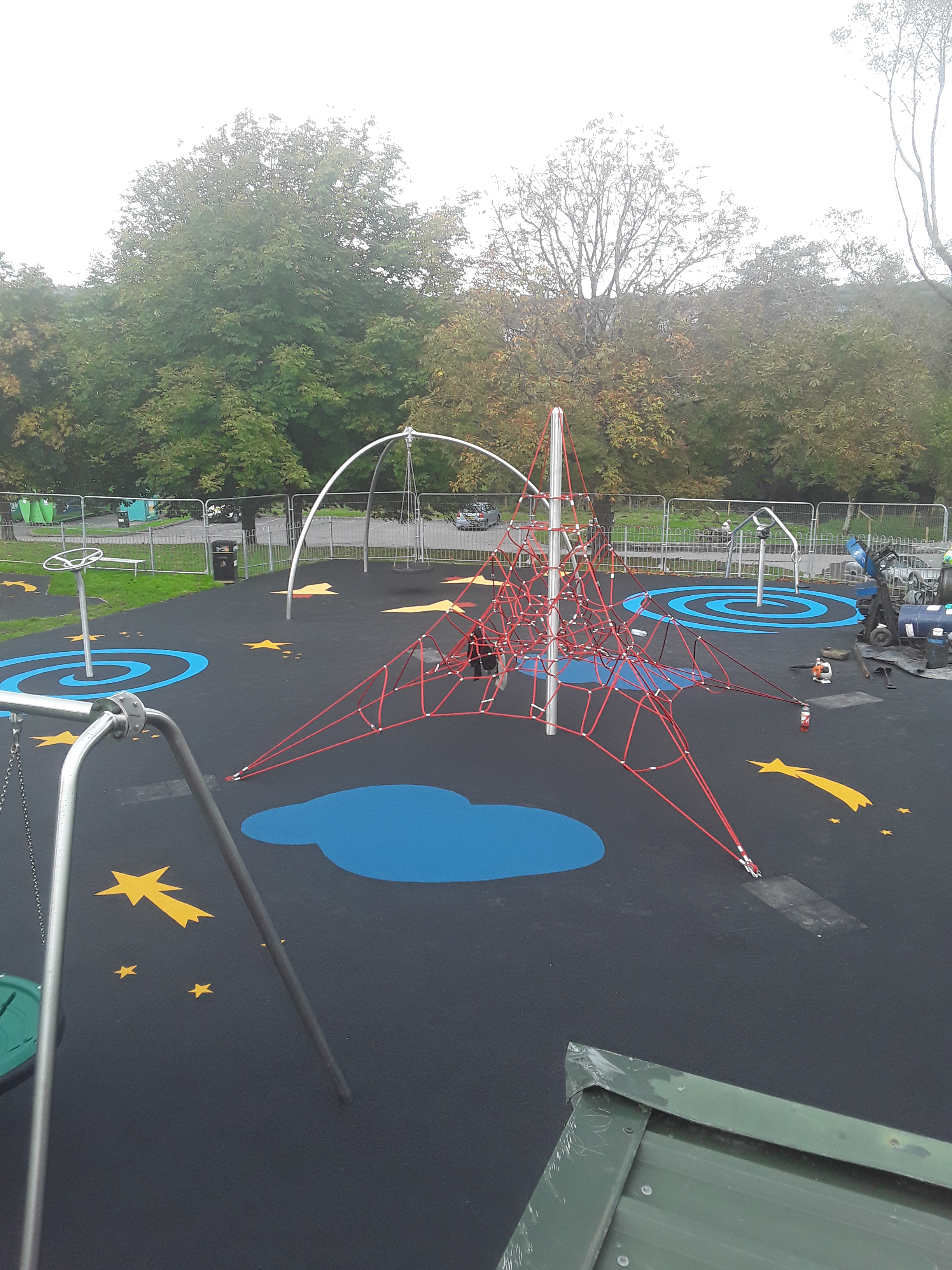 Play Area Surfacing At Pontyberem