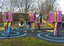 Pontyberem Play Area Surfacing